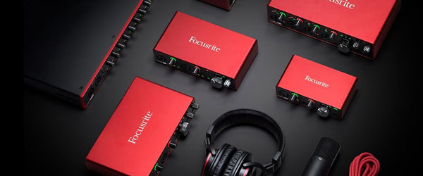 Focusrite Audio Interfaces