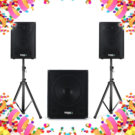 Carnaval speakersets