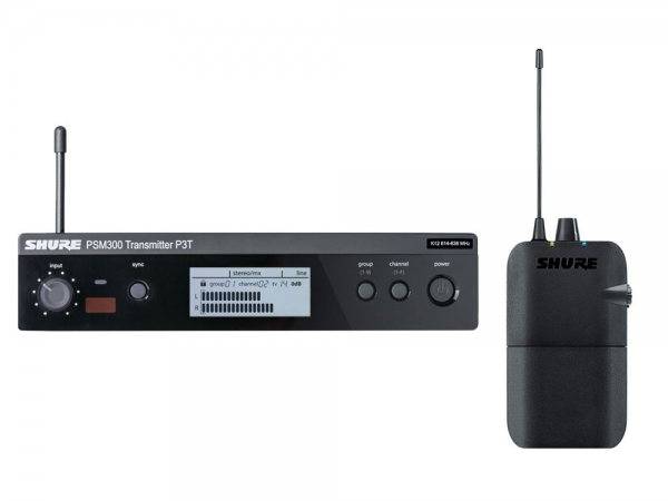Shure PSM300 draadloos in-ear monitorsysteem