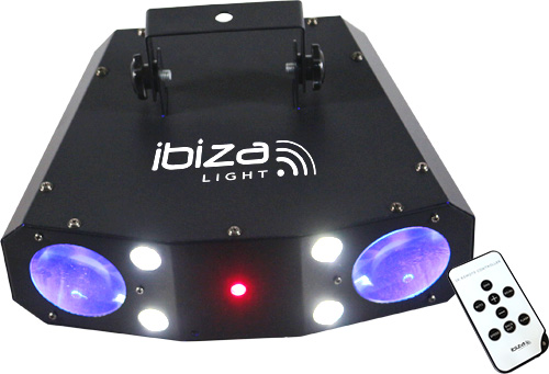 Ibiza Light Combo-3in1 RGB lichteffect