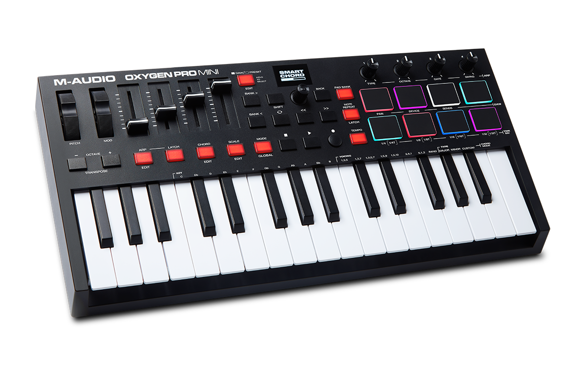 M-Audio Oxygen Pro Mini MIDI Keyboard
