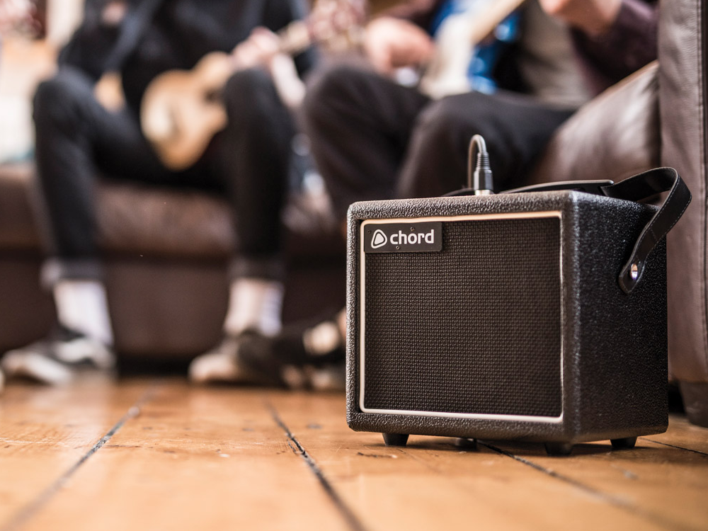 Chord Mini Rock Station portable gitaar versterker