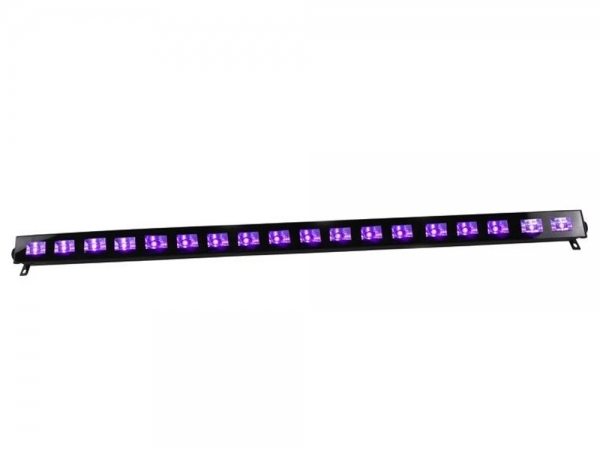 Ibiza Light LED-UVBAR18 wash blacklight
