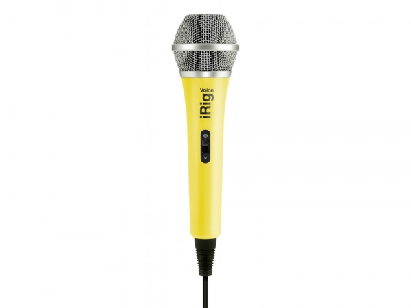 IK Multimedia iRig Voice Yellow microfoon voor iOS en Android