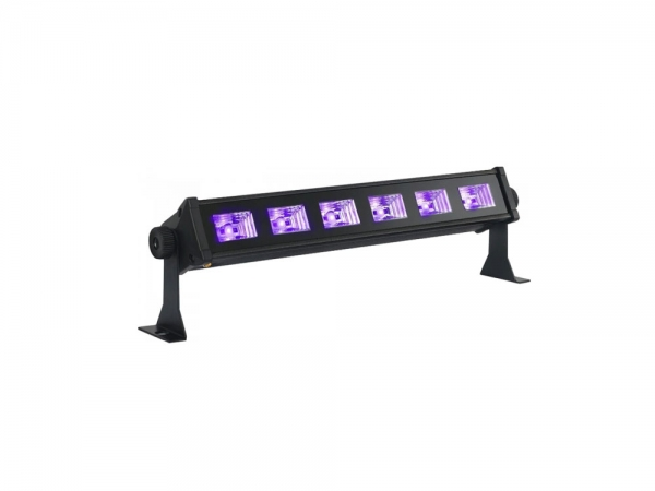 Ibiza Light LED-UVBAR6 UV LED Wash blacklight 6x 3W