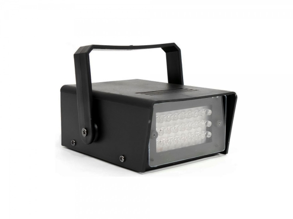 Ibiza Light STROBE20LED mini LED stroboscoop