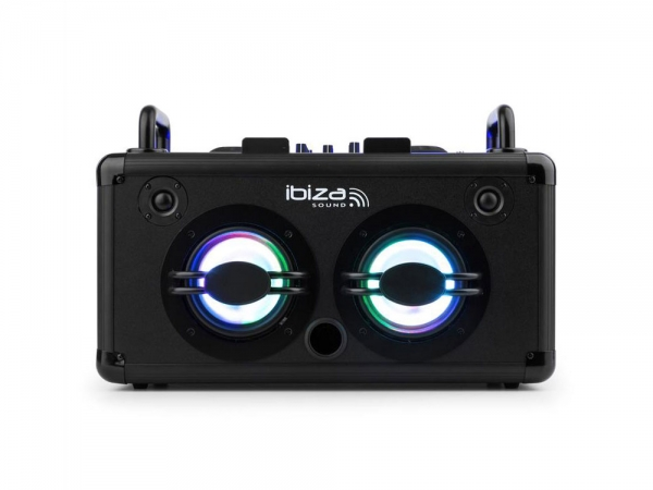 Ibiza Sound Dance Party stand-alone DJ box met accu