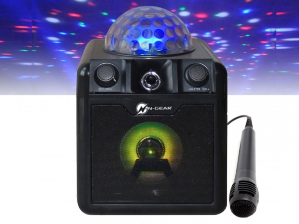 N-Gear Disco Block 410 portable bluetooth disco karaoke speaker