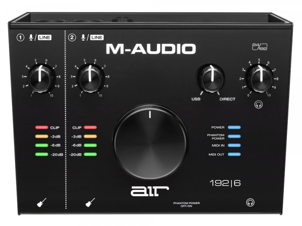 M-Audio Air 192 | 6 Audio Interface