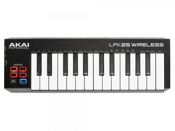 Akai LPK25 Wireless draadloos MIDI keyboard