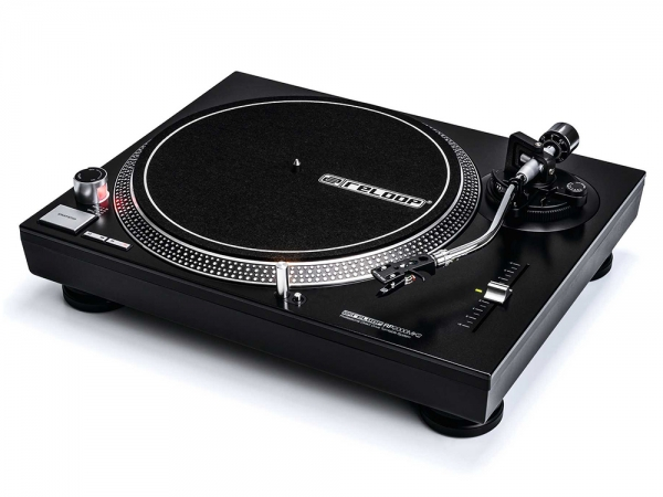 Reloop RP-2000 MK2 direct drive DJ platenspeler + OM Black element