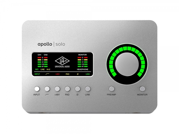 Universal Audio Apollo Solo USB 3 Audio Interface