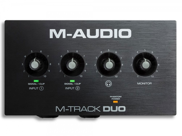 M-Audio M-Track Duo 2-kanaals USB audio-interface