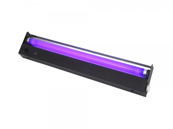 Qtx BL450 blacklight ultraviolet TL armatuur 0.45 meter + 20W UV lamp 450mm