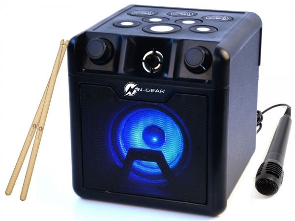 N-Gear Drum Block 420 portable bluetooth drumpad karaoke speaker