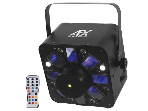 AFX Light COMBO-LED 3-in-1 lichteffect met afstandsbediening