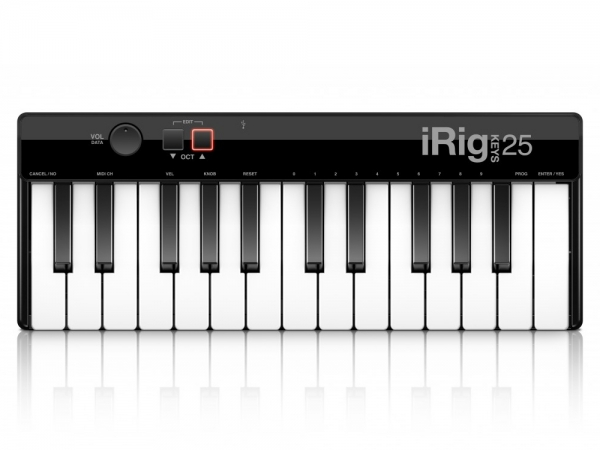 IK Multimedia iRig Keys 25 MIDI controller keyboard
