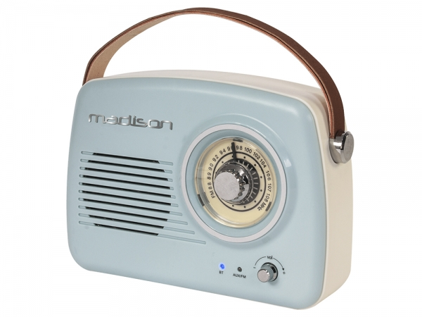 Madison FREESOUND-VR30 retro radio met Bluetooth FM en AUX
