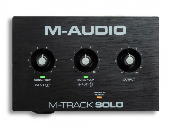 M-Audio M-Track Solo 2-kanaals USB audio-interface