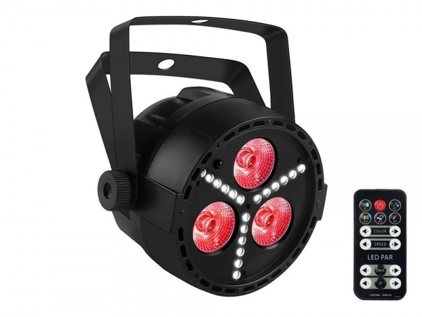 Ibiza Light PAR-MINI-STR 2-in-1 RGBW LED PAR DMX