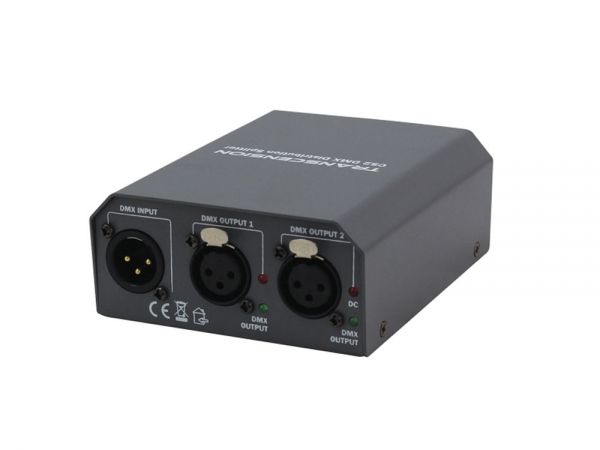 Transcension CS2 2-kanaals DMX booster/splitter