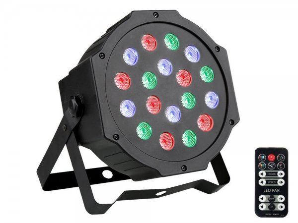 Ibiza Light PARLED181 LED par spot 18x 1W