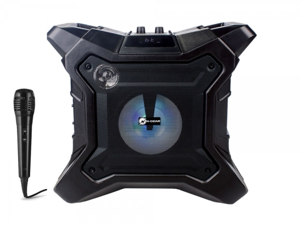 N-Gear The X Streetbox outdoor speaker met zaklamp