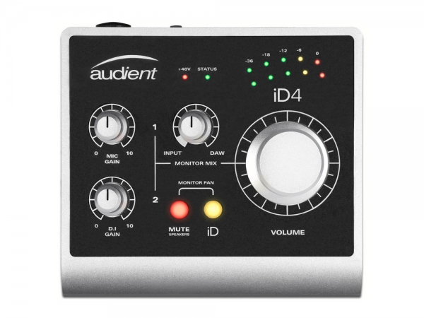 Audient iD4 USB audio interface 2in / 2out