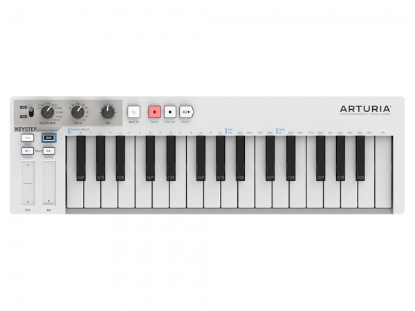 Arturia KeyStep MIDI keyboard controller en sequencer