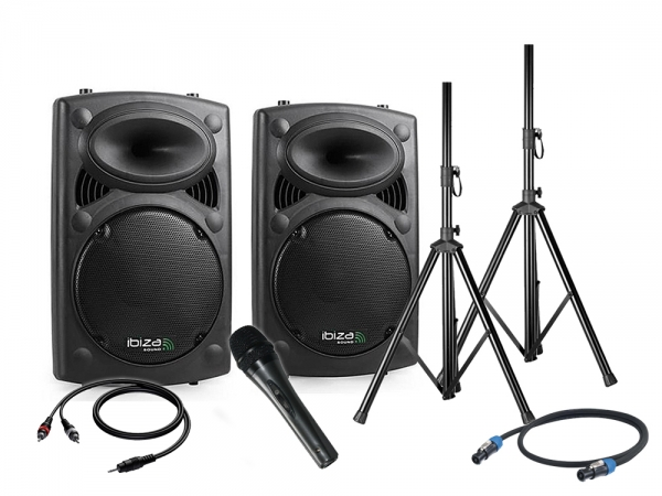 Ibiza Blue Rocker 12 speaker set