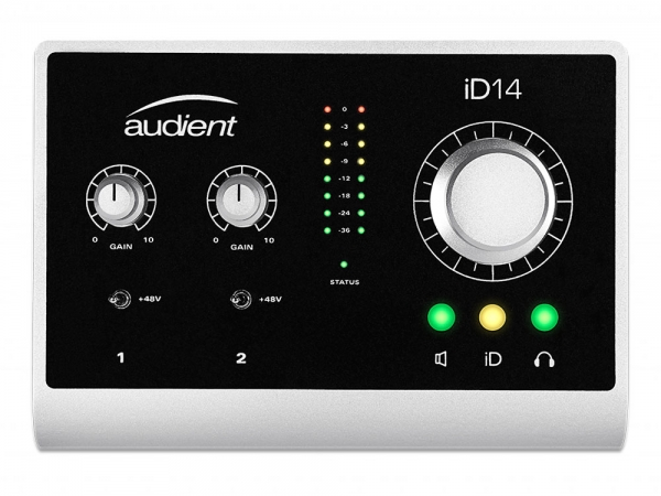 Audient iD14 USB audio interface 10in / 4out