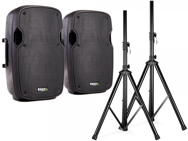 "Ibiza Sound XTK8AS actieve speaker set 8"" 800W"