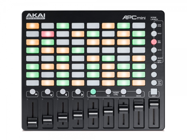 Akai APC MINI draagbare all-in-one Ableton Live controller