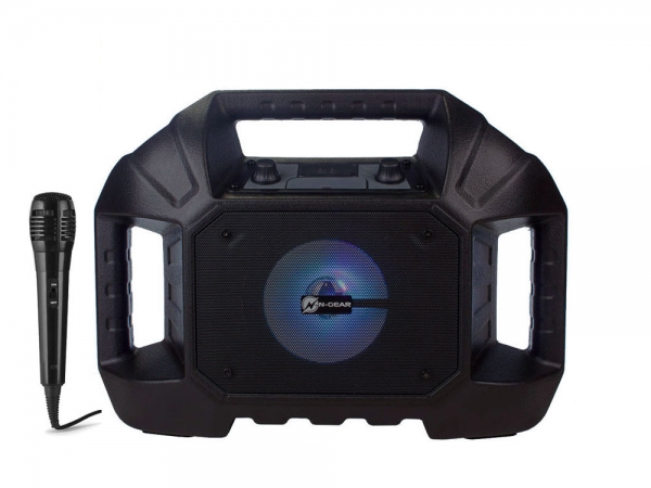 N-Gear The B Streetbox outdoor speaker met zaklamp