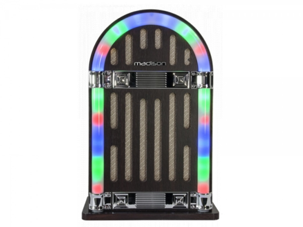 Madison MAD-JUKEBOX10 retro jukebox vintage bluetooth speaker