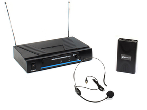 Qtx VN1 draadloos headset microfoon systeem VHF