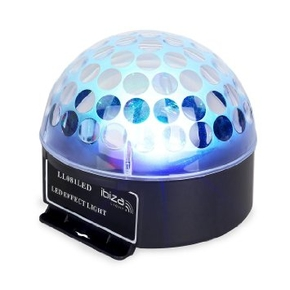 Ibiza Light ASTRO 1 LL081LED Crystal Jelly Ball RGB LED effect
