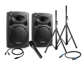 Ibiza Blue Rocker 15 speaker set