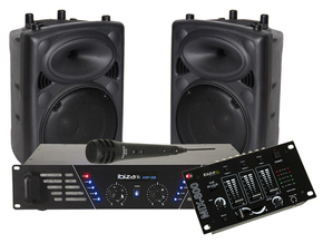 Ibiza DJ300 MKII complete party DJ set 600W
