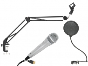 Citronic USB Vocal complete usb microfoon set