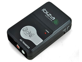 Ibiza Sound AD-TRANSFER USB analoog digitaal audio converter computer opname