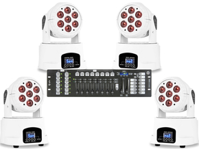Moving Head Set White 2