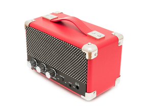 GPO Westwood Mini Bluetooth speaker rood