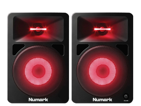 Numark N-Wave 580L DJ monitor speakers