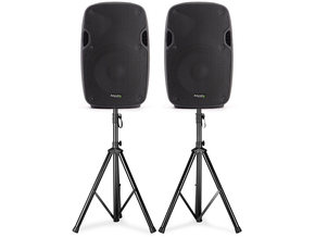 "Ibiza Sound XTK15AS actieve PA luidspreker set 15"" 2400W"
