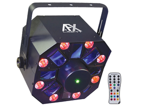 AFX Light COMBO-LED 4-in-1 lichteffect met afstandsbediening