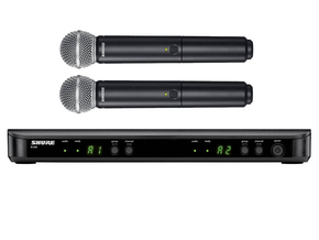 Shure BLX288/SM58 draadloos handheld microfoon systeem