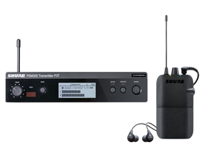 Shure PSM300 draadloos in-ear monitorsysteem met Shure SE112 in-ear