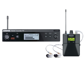 Shure PSM300 draadloos in-ear monitorsysteem met Shure SE215 in-ear