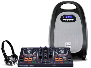 Numark Party Mix DJ controller set 1